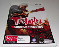 Tenchu Shadow Assassins Nintendo Wii PAL *Complete* Wii U Compatible
