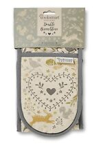 Cooksmart  Woodland Double Oven Gloves