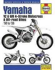 Yamaha YZ & WR 4 tiempos Motocross Motocicleta Reparación Manual: 98-08: 2015 por..