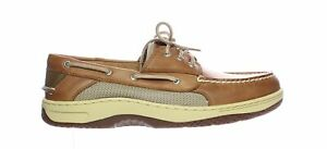 Sperry Top Sider Mens Billfish Dark Tan Boat Shoes Size 12 (Wide) (1638070)