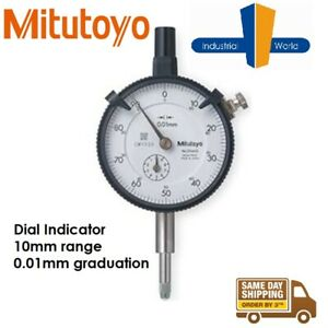 Mitutoyo Digimatic Dial Indicator - 0.01mm Graduations 10mm range - 2046S