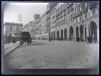 Francia O Italia Ville c1900 Foto Negativo Placca Da Lente Vintage VR18L7n5