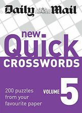 The Daily Mail New Quick Crosswords vol 5 BRAND NEW BOOK (Paperback 2009)