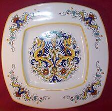 """Deruta ~ Ceramiche ~  Large Square Serving Platter Tray 14 1/4"""" X 14 1/4"""""""