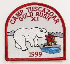 Camp Tuscazoar Gold Rush 1999 Patch