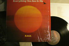 """RASA """"Everything You See Is Me"""" GOVINDA 106 SHRINK INSERT  Unplayed """"Top Copy"""""""