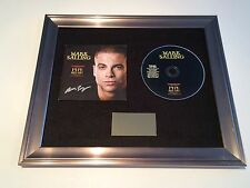 SIGNED/AUTOGRAPHED MARK SALLING - PIPE DREAMS FRAMED CD PRESENTATION. GLEE PUCK