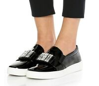 Michael Kors Sneaker Michelle Slip-On Embellished Sneakers  Black  Gr.38 Neu!