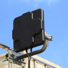 4G LTE Dual Mimo Antenne Extérieur SMA N Male Signal Strength Booster Noir