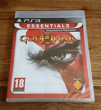 GOD OF WAR III 3 Essentials Jeu Sur Sony PS3 Playstation 3 Neuf Sous Blister VF