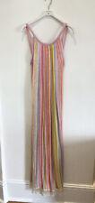 Missoni Pink Stripe Maxi Knit Dress