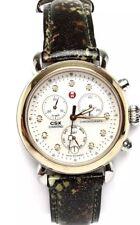 MICHELE CSX36 Two Tone MW03M00C9046 Camouflage Fashion Chronograph Watch 0106