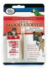 Quick Blood Stop Powder Wound Clot Nail Cutting WIng Clipping Dogs Cats  Birds