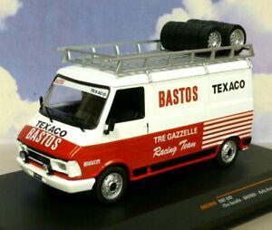 IXO 1/43 FIAT 242 LANCIA RACING RALLY TEAM BASTOS ASSISTANCE/SUPPORT VAN 1986