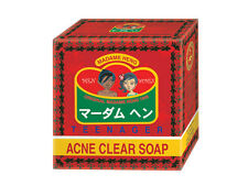 Madame Heng Acne Clear Soap Anti Pimples Blemish Teen Face Body Natural Bar 50G