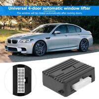 Auto Safety Power Window Roll Up Closer Module Car Alarm Protector For 4 Doors