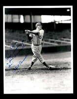 Phil Cavaretta Hand Signed 8x10 Photo Autograph Chicago Cubs