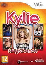 NEW + SEALED+UK=KYLIE SING AND DANCE=Wii-DANCING (MAKERS OF JUST DANCE) MINOGUE