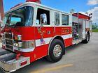 Pierce Dash Fire Truck Pumper 1000 gallon 11k miles Detroit Series 60 Generator