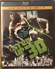 Step Up 3 (3D/Blu-ray/DVD, 2010, 3-Disc Set, Includes Digital Copy) Disney 3D
