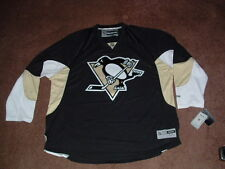 PITTSBURGH PENGUINS 2012-16 BLACK HOME PREMIER HOCKEY JERSEY 4X-LARGE NWT