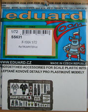 Eduard 1/72 SS631 Zoom Etch for the Trumpeter F-106A Delta Dart kit