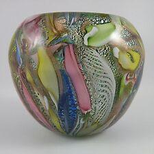 AVeM Murano Tutti Frutti Vase with Decora Import Label