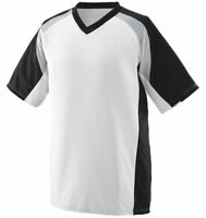 Augusta Sportswear Men's Moisture Wicking V-Neck Nitro Jersey T-Shirt. 1535