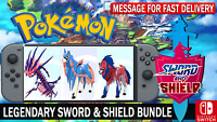 Pokemon Sword & Shield 6IV Zacian, Zamazenta, Eternatus Battle Ready!!