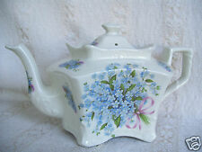 Extremely Rare Unusual Shape Fortunoff Blue Monarc Tea Pot Collectible