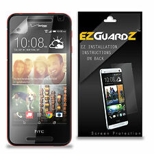 4X EZguardz LCD Screen Protector Skin Cover Shield HD 4X For HTC Desire 612