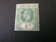 GILBERT & ELLICE iS. SCOTT # 27, 1/2p. VALUE GREEN  1921-27 KGV ISSUE USED