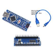 16M 5V Mini USB Nano V3.0 ATmega328 Micro-controller CH340 For Arduino+Cable F