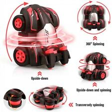 Turbine Drift Stunt Car 360° Rotation Red Colour Toys TIRE 90° ROLL 5 LIGHTING