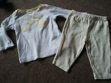 UNISEX CARTERS BABY DUCK TOP AND LEGGINGS 6 MONTHS (UK 3-6 MONTHS)