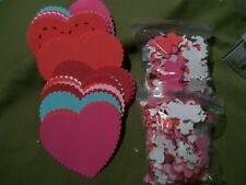 Valentines Foam Mix Heart Items Craft Style Some Mild Sticky Backing