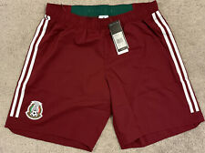 Adidas Authentic Mexico 2018 World Cup Match Short Player Version Issue Red L G
