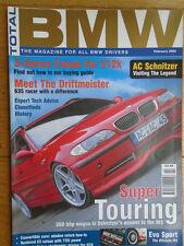 Total BMW Feb 2003 M3 Evo Sport, 635 racer
