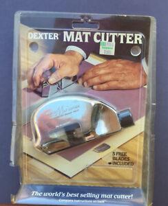 Dexter Mat Cutter In Package Russel Harrington Cutlery 1988 Picture Frame Border