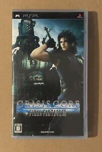 Final Fantasy VII Crisis Core PSP Sony Playstation Japan Complete  Square Enix