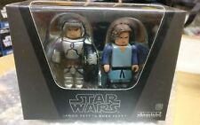 Medicom Star Wars Kubrick Jango & Boba Fett Box Set versión Epii Boba esb desenmascarado