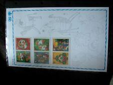 Sonder-Edition gemälde kunst - Jahr des Kindes 1979 PARAGUAY satz 3 ZDR xx RAR