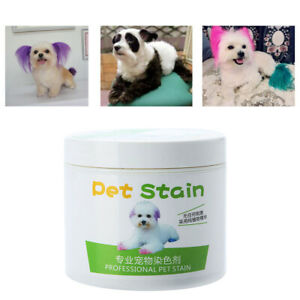 Professional Pet Stain Anti Allergic Cat Dog Hair Dye Cream Coloring Agent