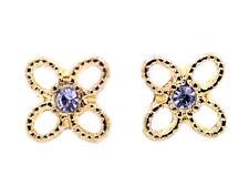 Super lindo pendientes de tono de flores de perlas de flores