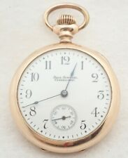 Gold Filled Pocket Watch Antique 0S Ball Special
