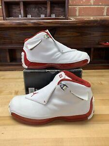 Jordan 18 OG Varsity Red 2003 sz 9.5. 305869-161