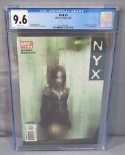NYX #3 (X-23, Laura Kinney 1st app) CGC 9.6 NM+ Marvel Comic 2004 Josh Middleton