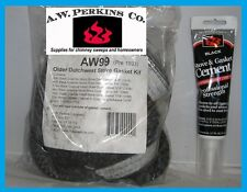 Aw Perkins Aw99 Consolidated Dutchwest Stove Gasket Kit Pre 1993 Gk-99 cement