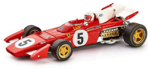 Slot It Policar Ferrari 312 B2 - Regazzoni -'71 Silverstone 1/32 Slot Car CAR05B