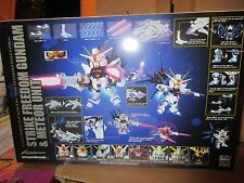 Bandai Robot Spirit Superior Defender SD Strike Freedom Gundam Meteor Unit DBZ